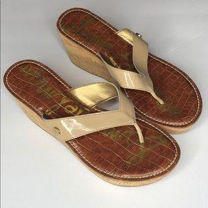 Sam Edelman wedges Sandals